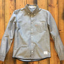 VINTAGE OXFORD SHIRT【GRAY】/ BS17AW-SH13
