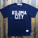 KOJIMA CITY PRINT T-SHIRT 【NAVY】/ BS-CS1-01