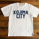 KOJIMA CITY PRINT T-SHIRT 【W-NV】/ BS-CS1-01