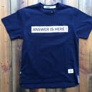 JAPAN BLUE SAKURA COLLABORATION T-SHIRT 【NAVY】
