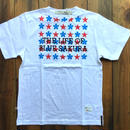 THE LIFE OF BLUE SAKURA PRINT T-SHIRT 【WHITE】/ BS-CS1-04