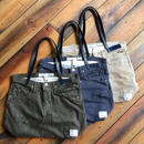 D&C COLOR DENIM TOTE BAG【3color/Leather】