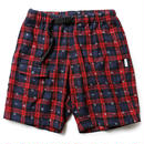 【LIFUL】RED×PURPLE CHECK CAMP SHORT
