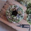 うつろいの紫陽花リース