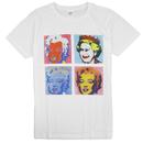 マリリンモンロー&エリザベス女王 Tシャツ