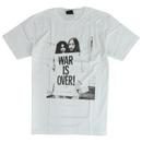 ジョン&ヨーコ WAR IS OVER  Tシャツ