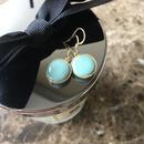 アレルギーフリー glass pierced earring