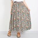 [1162sk]ポップ花柄プリントスカート