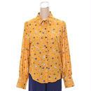 [0571tp]レトロフラワーシャツ