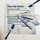 Dear cab driver Napkinハンカチーフ/83