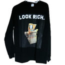 LOOK RICH GOLD CANON Long-sleeve shirt ロンTEE /  83