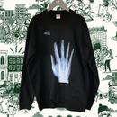 One hand X-ray  トレーナー (裏起毛)  /  83