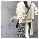 カシュクールribbon knit
