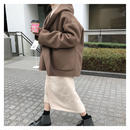 hoody half coat / Handmade