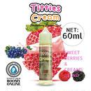 【BooMY-Originalリキッド〓PuffPuff-Liquid〓】Titties Cream-大容量60ml(ティティーズ・クリーム)スウィートベリーズ&クリームズブレンド