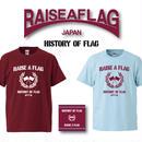 【予約】RAISE A FLAG / HISTORY OF FLAG【CD+TシャツSET】