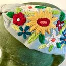 Namrata Joshipura Head Band ヘアアクセサリー  flower embroidery