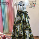 Bouncy Skirt  バウンシースカート ラップスカート leaves