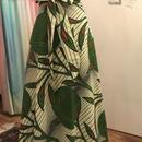Bouncy Skirt  バウンシースカート ラップスカート green leaves