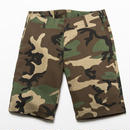 BxH Woodland Camo Stretch Half Pants