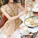 trench jacket dress(No.300422)