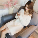 2way knit one-piece (No.300324)