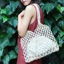 natural straw bag