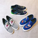 MIRA MIKATI / AAAHH! PATCHED SLIP-ON / 24.5cm