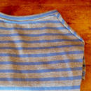 バスクボーダーシャツ(グレー×サックス)