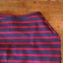 バスクボーダーシャツ(グレー×レッド)