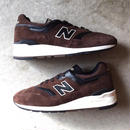 "[NewBalance] ""ML997DBR"" Made in USA -brown×black- (¥26,800-+tax)"