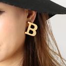 Bピアス(gold)