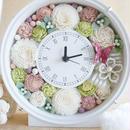 ◆ウェディングのお祝に♪アニバーサリーギフトに♪花時計(ピンク)◆
