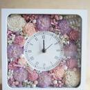 母の日のプレゼントに♪アニバーサリーギフトに♪カーネーションとローズの花時計