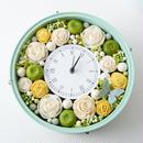 ビタミンカラーとグリーンアップル♪花時計(Apple・version)