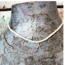 ヒトデモチーフとウミタケ珊瑚のネックレス