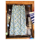 レディース花柄サックススカート