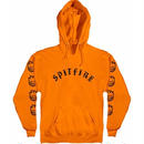 SPIT FIRE EMB PULLOVER HOODIE  ORENGE