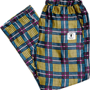 WAFFLESNCREAM GORGEOUS CHECKERS TROUSERS