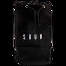 SOUR SOLUTION PAT DUFFLE BAG 2.0  BLACK