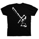 DEATH WISH 24TH LETTER  TEE      BLACK