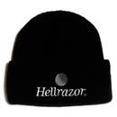 HELLRAZOR TRADEMARK LOGO WATCH CAP BLACK