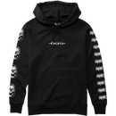 EMERICA X FUNERAL FRENCH PULLOVER  BLACK