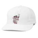 BUTTER GOODS PANTHER SNAPBACK CAP    WHITE