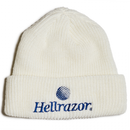 HELLRAZOR TRADEMARK LOGO WATCH CAP  WHITE