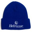 HELLRAZOR TRADEMARK LOGO WATCH CAP ROYAL BLUE