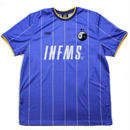 GRIMEY HARF OFF IT SOCCER TEE   BLUE