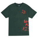 RARE PANTHER  WE MUST RISE  TEE      F,GREEN