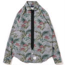 【APPLEBUM】Chambray Flower Necktie-Gimmick Shirt