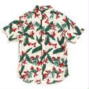 "【APPLEBUM】""Tony Montana"" Fly Front SS Shirt [Natural]"